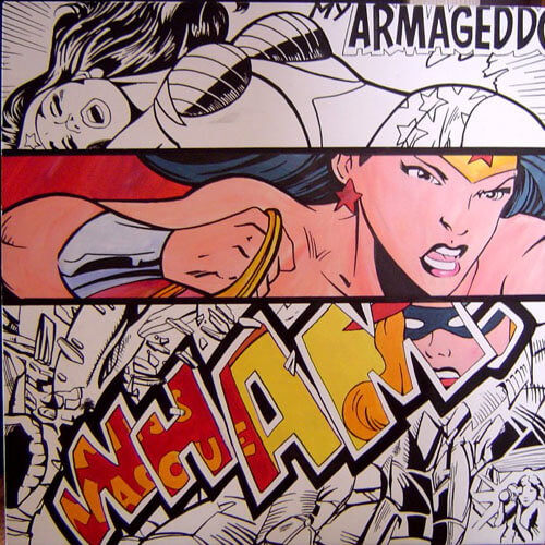 Painting – My armageddon