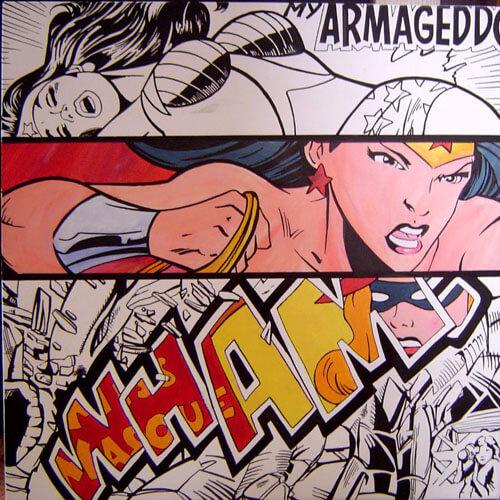 Painting - My armageddon