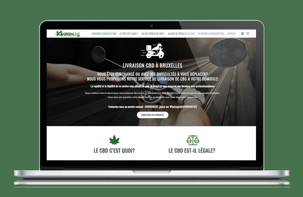 Boutique en ligne pour Service de Livraison