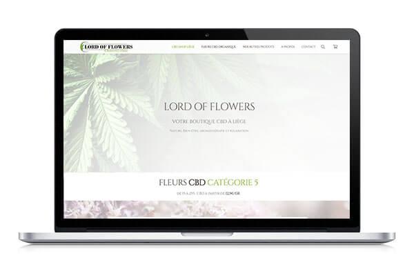 Boutique en ligne pour magasin CBD